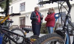 A Sárvári Televízió felhívása a kerékpárgyűjtési akcióról