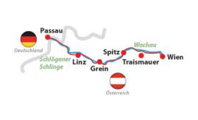 Duna mentén Ausztriában: Passau-Bécs – Túrajelentkezés