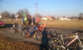 Fotókon az Újévi kijózanító kerékpártúra
